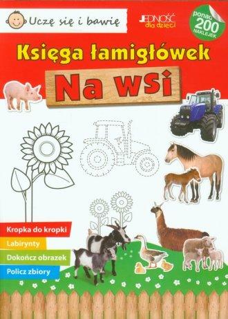 Na wsi. Księga łamigłówek - okładka książki