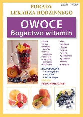 Owoce. Bogactwo witamin. Seria: - okładka książki
