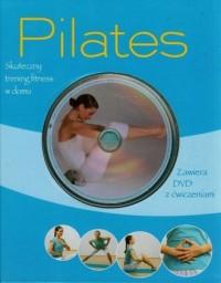 PilatesVD. Skuteczny trening fitness w domu (+ DVD) - okładka książki