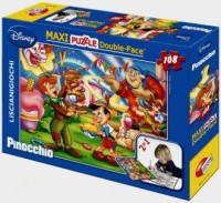 Pinokio (puzzle 108-elem. dwustronne maxi) - zdjęcie zabawki, gry
