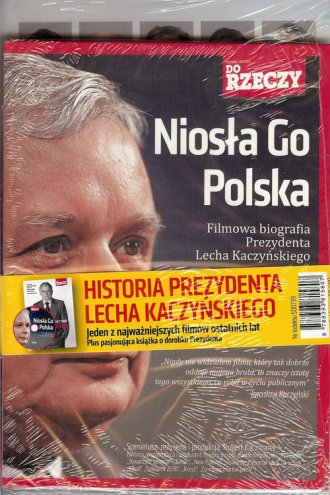 Prezydent Lech Kaczyński. Odwaga - okładka książki