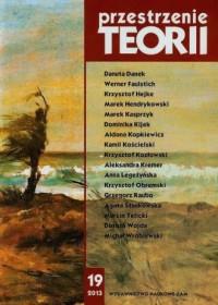 Przestrzenie Teorii 19/2013 - okładka książki