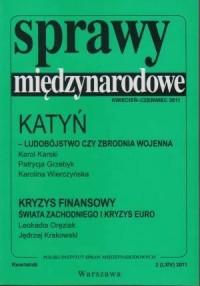 Sprawy Międzynarodowe (kwiecień - czerwiec 2011) - okładka książki