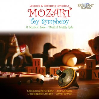 Toy Symphony, a Musical Joke - okładka płyty
