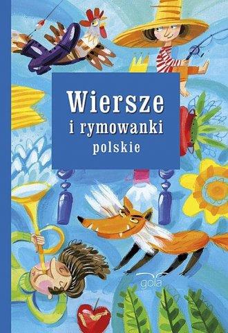 Wiersze i rymowanki polskie - okładka książki