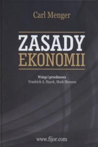 Zasady ekonomii - okładka książki