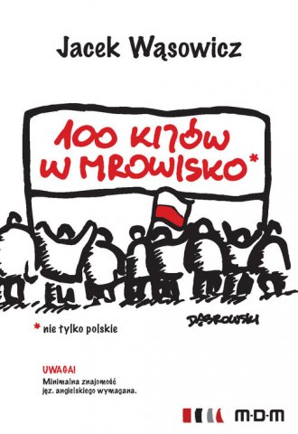 100 kijów w mrowisko - okładka książki