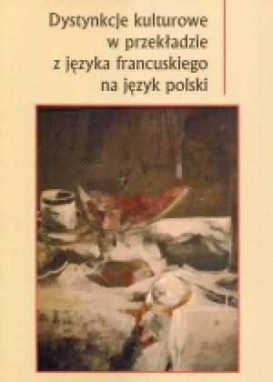 Dystynkcje kulturowe w przekładzie - okładka książki