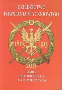 Dziedzictwo Powstania Styczniowego. - okładka książki