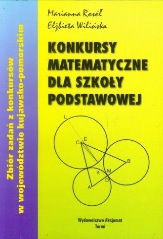 Konkursy matematyczne dla szkoły - okładka podręcznika