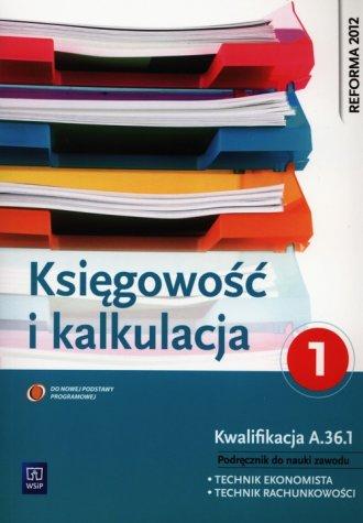 Księgowość i kalkulacja. Szkoła - okładka podręcznika