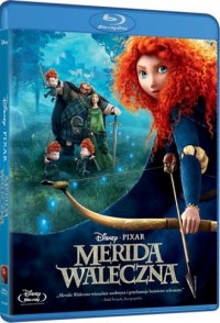 Merida Waleczna (Blu-ray) - okładka filmu
