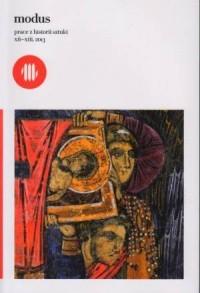Modus. Prace z Historii Sztuki, XII-XIII, 2013 - okładka książki