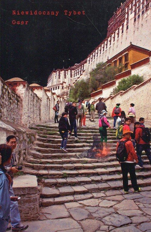 Niewidoczny Tybet - okładka książki