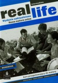 Real Life. Intermediate Workbook. Język angielski. Kurs przygotowujący do matury (+ CD) - okładka podręcznika