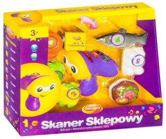 Skaner sklepowy - zdjęcie zabawki, gry