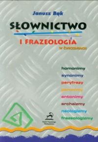 Słownictwo i frazeologia w ćwiczeniach - okładka książki