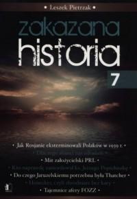 Zakazana historia 7 - okładka książki
