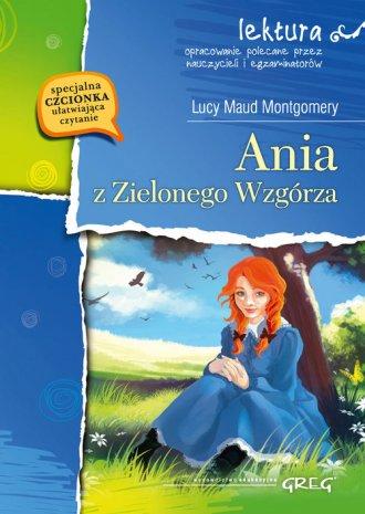 Ania z Zielonego Wzgórza. Lektura - okładka podręcznika