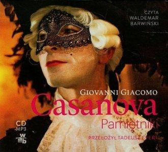 Casanova. Pamiętniki - pudełko audiobooku