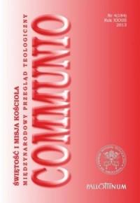 Communio nr 4(184)/2013. Świętość i misja Kościoła - okładka książki