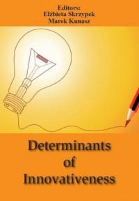 Determinants of Innovativeness - okładka książki