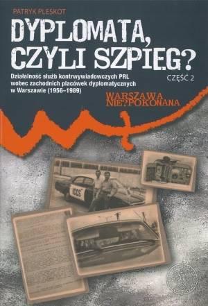 Dyplomata, czyli szpieg? cz. 2: - okładka książki