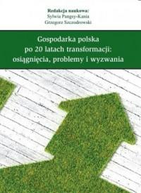 Gospodarka polska po 20 latach transformacji. Osiągnięcia, problemy i wyzwania - okładka książki