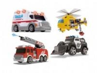 Małe pojazdy ratunkowe, różne rodzaje - zdjęcie zabawki, gry