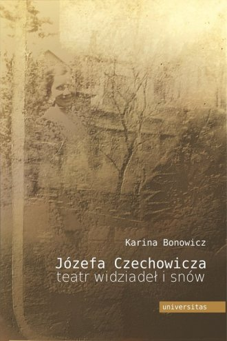 Józefa Czechowicza teatr widziadeł - okładka książki