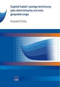 Kapitał ludzki i postęp techniczny jako determinanty wzrostu gospodarczego - okładka książki