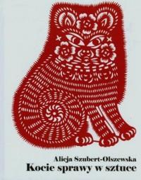 Kocie sprawy w sztuce - okładka książki