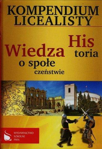 Kompendium licealisty. Historia. - okładka podręcznika