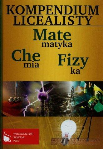 Kompendium licealisty. Matematyka. - okładka podręcznika