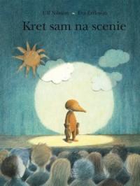 Kret sam na scenie - okładka książki