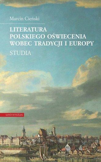 Literatura polskiego oświecenia - okładka książki