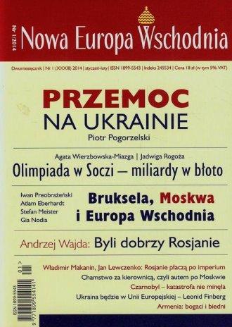 Nowa Europa Wschodnia 1/2014 - okładka książki