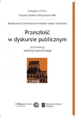 Przeszłość w dyskursie publicznym - okładka książki