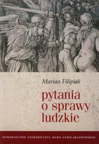 Pytania o sprawy ludzkie - okładka książki