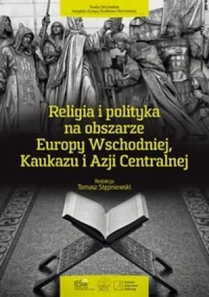 Religia i polityka na obszarze - okładka książki