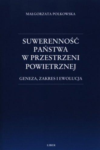 Suwerenność państwa w przestrzeni - okładka książki
