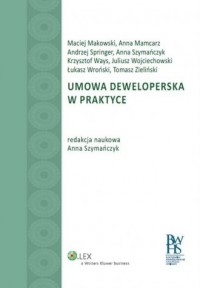 Umowa deweloperska w praktyce - okładka książki