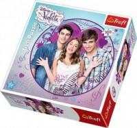 Violetta i przyjaciele (puzzle okrągłe 300-elem.) - zdjęcie zabawki, gry