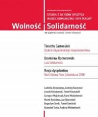 Wolność i Solidarność 6/2013. Studia z dziejów opozycji wobec komunizmu i dyktatury - okładka książki