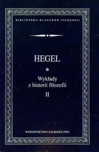 Wykłady z historii filozofii. Tom - okładka książki