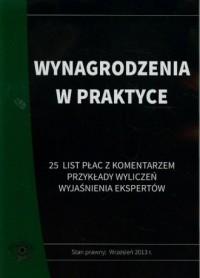 Wynagrodzenia w praktyce. 25 list płac z komentarzem, przykłady wyliczeń, wyjaśnienia ekspertów - okładka książki