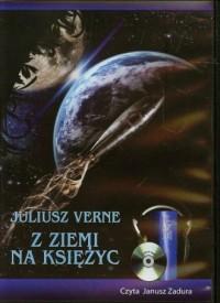 Z Ziemi na Księżyc (CD mp3) - pudełko audiobooku