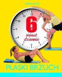 okładka książki - 6 minut dziennie. Płaski brzuch