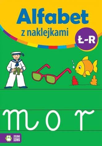Alfabet z naklejkami Ł - R - okładka książki