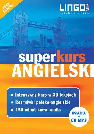 Angielski. Superkurs (kurs + rozmówki - okładka podręcznika